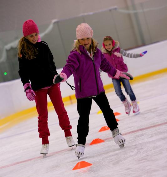 Sobotné korčulovanie pre deti